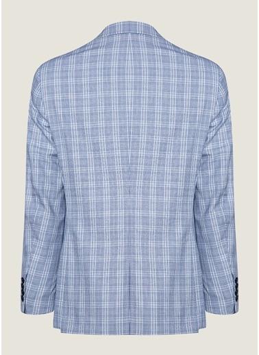 Bisse CK19Y19101 Regular Fit 6 Drop Blazer Ceket Lacivert